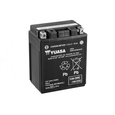 Аккумулятор Yuasa YTX14AHL-BS